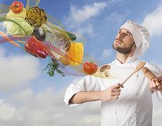 Food harmony - stock photo