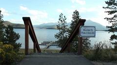 Lake Dillon visuals Stock Footage
