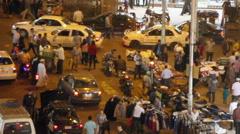 Cairo, Egypt urban overhead Stock Footage