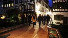 German city scene Stock Footage