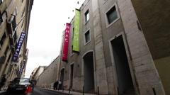 Exterior of 'Chiado Museum' Stock Footage