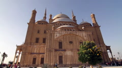 Alabaster Mosque exterior Stock Footage