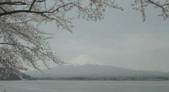 Stock Video Footage of quiet Mt.Fuji 4k  non color graded (4000x2160)