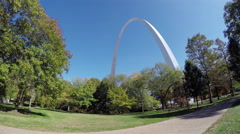 The Gateway Arch 4K UHD Stock Footage