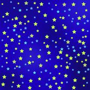 Star Sky Background Stock Illustration