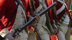 Stock Video Footage of Revolutionary War