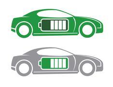 ecological transport - stock illustration