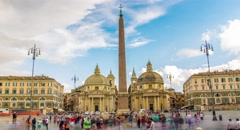 Summer Art Rome Roma Landmark Italian Ancient Travel Italy History Roman Old - stock footage