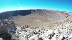 Meteor Crater 4K UHD Stock Footage