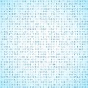 Binary code Stock Illustration