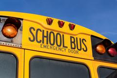 American school bus Kuvituskuvat
