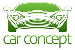 Luxury car concept Piirros