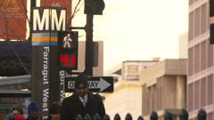 Washington D.C. commuters Arkistovideo