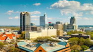 Stock Video Footage of Raleigh North Carolina Time Lapse