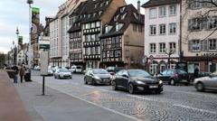 German city scenics Stock Footage