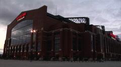 Lucas Oil Stadium Stock Footage