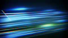 blue flashing stripes loopable techno background 4k (4096x2304) - stock footage