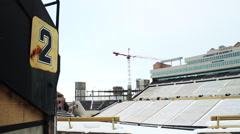 Folsom Field, University of Colorado Stock Footage