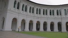 pan -Singapore art museum near Bras Basah - stock footage