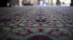 Al-Azhar Mosque, tilt up Stock Footage
