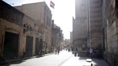 Coptic Cairo Stock Footage