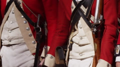 Stock Video Footage of Revolutionary War