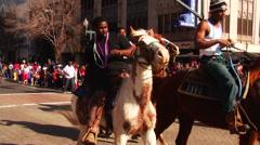 Krewe of Harambee Mardi Gras Parade Stock Footage