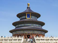 Hall of Prayer for Good Harvests, Temple of Heaven (Tian Tan), UNESCO World Stock Photos