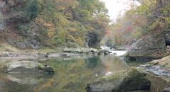 Bleak river 4k color graded (4000x2160) Stock Footage