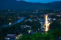 Luang Prabang, Laos. - stock photo