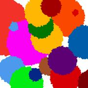 Stock Illustration of Color circle background