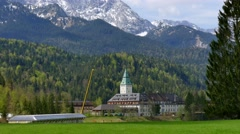 G7 Sumit, Elmau Castle, Germany Stock Footage