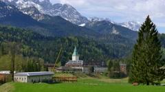 G7 Sumit, Elmau Castle, Germany Stock Footage