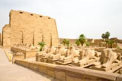 Karnak, Egypt. Stock Photos