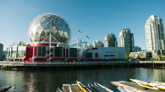 Science World -  Hyperlapse Stock Footage