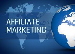 Affiliate Marketing - stock illustration