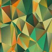 Polygonal abstract geometry background - stock illustration