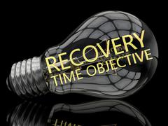 Recovery Time Objective Stock Illustration