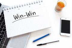 Win-Win Stock Illustration