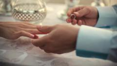 Offer Hands and Hearts Stock Footage