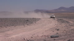 Vehicle for Dakar Stock Footage