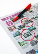 Housing Market News - stock photo