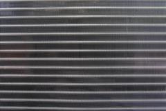 Close up texture pattern of air condition exhaust coil  use for industry back Stock Photos