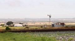 Cabbage farming rural Australia Stock Footage