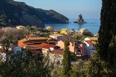 Agios Gordios Stock Photos