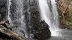 McKenzie Falls, Grampians Stock Footage