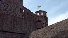 Castle of Heidelberg Stock Footage