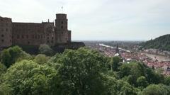 View of Heidelberg Stock Footage