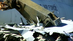 Footage of the Boneyard at Davis-Monthan Air Force Stock Footage
