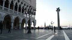 Venice Italy at dawn Stock Footage
